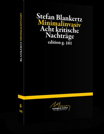Stefan Blankertz – Minimalinvasiv